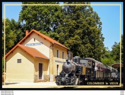 07  COLOMBIER  Le  VIEUX   ...  La  Gare - Other Municipalities