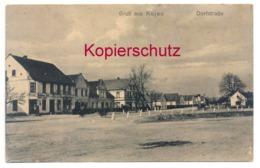 Kujau Ca. 1910, Dorfstrasse, LKr. Neustadt, Schlesien - Schlesien