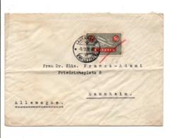 SUISSE LETTRE DE LAUSANNE POUR L'ALLEMAGNE 1932 - Zwitserland