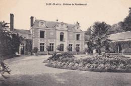 FAYE D ANJOU CHATEAU DE MONTBENAULT CARTE NEUVE - France