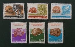 Indonesia 1989; Archaeology; Fossils; Homo Sapiens, Homo Erectus; MNH, Neuf**; Postfrisch!! - Indonesien