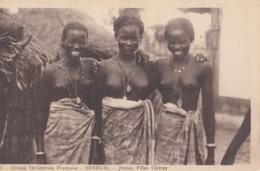 AOF -  SENEGAL: Jeunes Filles Cérèses - Senegal