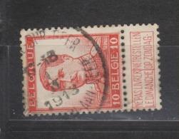 COB 118 Oblitération Centrale ROCLANGE-SUR-GEER - 1912 Pellens
