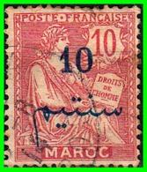 MARRUECOS SELLO AÑO 1914-17 FRANCIA SELLO EN MARRUECOS - Morocco (1956-...)