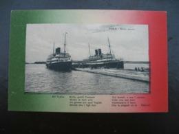Croatia Kroatien Istrien Istria Pola Pula Hafen Ship Schiffe All Italia 1919. - Croatie