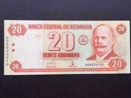 NICARAGUA P197 20 CORDOBAS 2006 UNC - Nicaragua