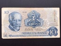 NORWAY P36 10 KRONER 1976 VG - Norvegia