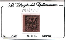 91003) ITALIA-MODENA- 9 C.Aquila Estense, Senza Lettere - Segnatasse Per Giornali - Modena