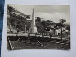 Q295 CARTOLINA Di  SAN RUFO MONUMENTI AI CADUTI     SALERNO   VIAGGIATA - Salerno