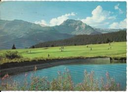 GOLF En Suisse : Le Lac Et Le Terrain De Golf De Crans Sur Sierre ( Canton Du Valais, Alt. 1500m ). CPSM. - Golf