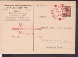 Böhmen Und Mähren Sonderstempel Prag 1941 - Germany