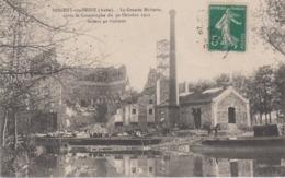 CPA Nogent-sur-Seine - La Grande Malterie, Après La Catastrophe Du 30 Octobre 1911 Faisant 40 Victimes - Nogent-sur-Seine