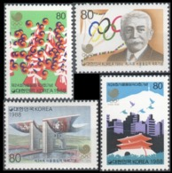 1988Korea South1567-701988 Olympic Games In Seoul - Ete 1988: Séoul