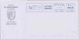 Volcans : Orcines (terre Des Ours) (Puy De Dôme) Berceau Du Géant Des Dômes (armorial Caducée Et Ours) - Volcans