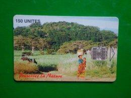 Télécarte Madagascar, Préserver La Nature, 150 Unités, 50 000ex Utilisé, Traces - Madagaskar