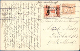 Dutch Indies 1928, 30.10, Picture Card From Semarang To Treebeek NL, 7½c + 40c Airmail Stamp - 1911.2017 - Netherlands Indies