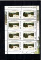 Belarus 2004  . Art Museum (Painting). Sheetlet Of 8 Stamps .  Michel #  513  KB - Bielorussia