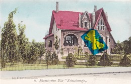 "HOOGSTRAETEN - Villa ""Heidebloempje"" - Carte Colorée Et Circulée En 1904 - Hoogstraten"