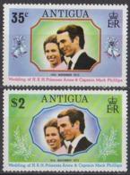 ANTIGUA - Mariage De La Princesse Anne - Antigua Und Barbuda (1981-...)
