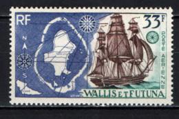 WALLIS ET FUTUNA - 1960 - Map Of Islands And Sailing Ship - MNH - Posta Aerea