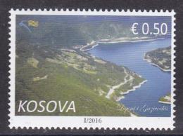 Kosovo 2016 Lake Gazivode Mountains Nature Definitive Stamp MNH - Kosovo