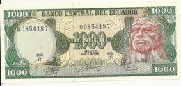 EQUATEUR 1000 SUCRES 1988 UNC P 125 B - Ecuador