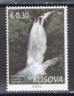 Kosovo 2016 Waterfall Nature Trees Definitive Stamp MNH - Kosovo