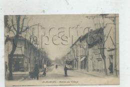 Saint-Marcel (71) : MP Du Magasin De Savons à L'entrée Du Village Et Tramway En 1912 (animé)PF. - Altri Comuni