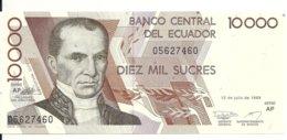 EQUATEUR 10000 SUCRES 1999 UNC P 127 - Ecuador