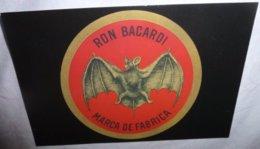 "Carte Postale - Ron Bacardi (chauve-souris) Marca De Fabrica - ""El Murcielago"" 1862 - Werbepostkarten"