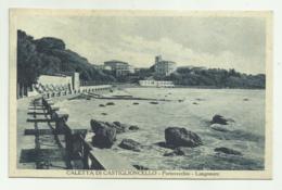 CALETTA DI CASTIGLIONCELLO -  PORTOVECCHIO - LUNGOMARE -  VIAGGIATA  FP - Livorno