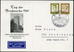 TAG DER BRIEFMARKE Sost.1961 Bund PP25 C2/001a  NGK 18,00 € - Tag Der Briefmarke