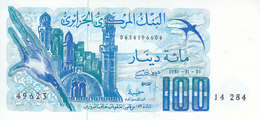 ALGERIA 100  DINAR 1981 P-131 UNC */* - Algerien