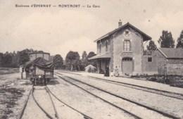 51 - Environs D'Epernay - MONTMORT - La Gare. - Montmort Lucy