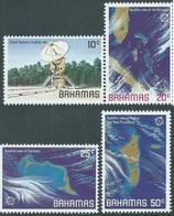 BAHAMAS : Grand Bahamas Satellite Dish  Ans Satellite Views (set Of 4)   MNH - Bahamas (1973-...)