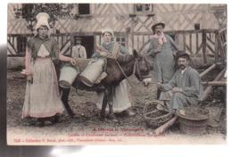 REF 447 : CPA A Travers La Normandie Cultivateurs Normands - Altri Comuni