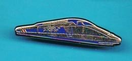 PIN'S //  ** TRAIN SNCF / TGV ** . (Decat Paris) - TGV