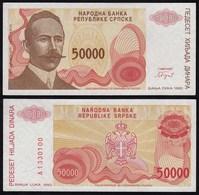 BOSNIA - HERZEGOVINA 50000 Dinara 1993 Pick 150a UNC (1)   (24294 - Bosnia And Herzegovina