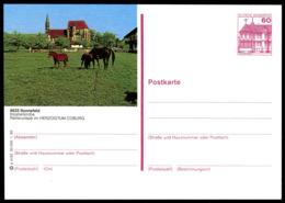 72963) BRD - P 138 - P4/50 - * Ungebraucht - 8625 Sonnefeld, Klosterkirche - [7] Federal Republic