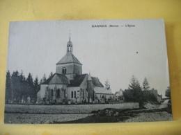 51 8774 CPA 1928 - 51 BANNES. L'EGLISE. EDIT. J. D. - Autres Communes