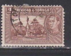 TRINIDAD & TOBAGO Scott # 53 Used - KGVI & Memorial Park - Trinidad & Tobago (...-1961)