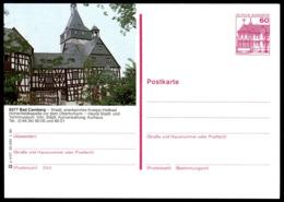 72970) BRD - P 138 - P4/57 - * Ungebraucht - 6277 Bad Camberg, Hohenfeldkapelle, Kirche - [7] Federal Republic