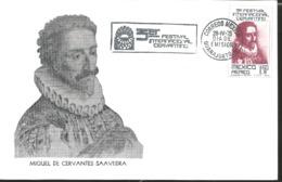J) 1975 MEXICO, THIRD CERVANTINO INTERNATIONAL FESTIVAL, GUTEMBERG POSTCARD - Mexiko