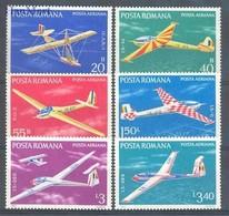 Romania 1977 Mi 3411-3416 MNH ( ZE4 RMN3411-3416 ) - Flugzeuge