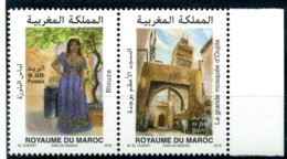 2018 Y&T N° à Venir Paire Horizontale OUJDA Neuf - Morocco (1956-...)