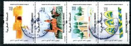 2019 Y&T N° 1836-1839 ° Bande De 4 Se Tenant Oblitéré - Morocco (1956-...)