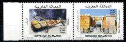 2018 Y&T N° à Venir Paire Horizontale OUJDA - Morocco (1956-...)
