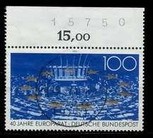 BRD 1989 Nr 1422 Zentrisch Gestempelt ORA X7EB116 - [7] Repubblica Federale