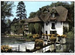 Carte Postale   27.  Fourges  Auberge Du Moulin De Fourges  Le Déversoir Et Le Barrage - Fourges