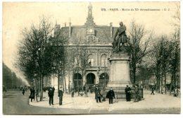 75011 PARIS - Mairie Du XIe Arrondissement - Statue De Ledru-Rollin - Distretto: 11